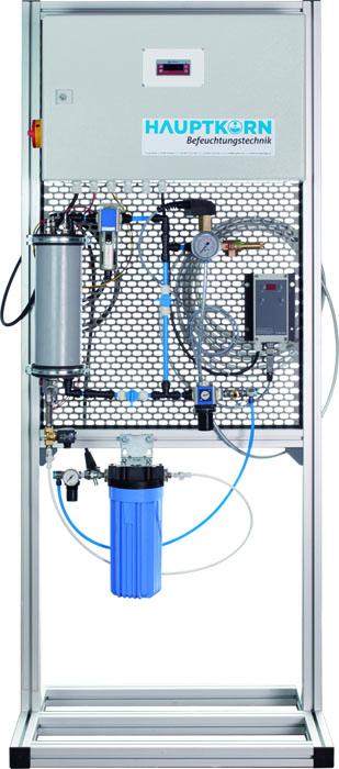Druckluftbefeuchtung und Druckluftzerstaeuber