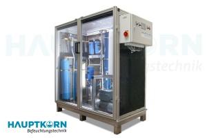 Hauptkorn Befeuchtungstechnik Wasseraufbereitung mit Einhausung